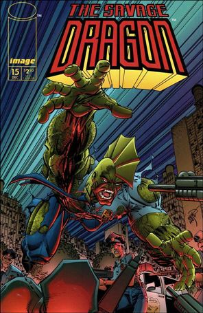 Savage Dragon (1993) 15-A