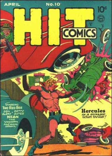 Hit Comics 10-A by Quality