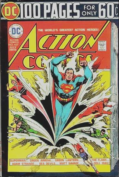 Action Comics (1938) 437-A by DC