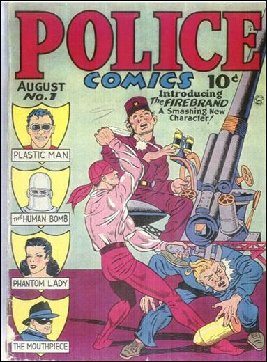 Police Comics 1-A by Comic Magazines