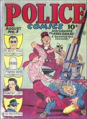 Police Comics 1-A