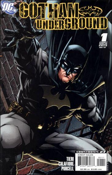 Gotham Underground 1-A by DC