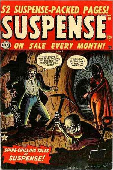 Suspense 19-A by Timely