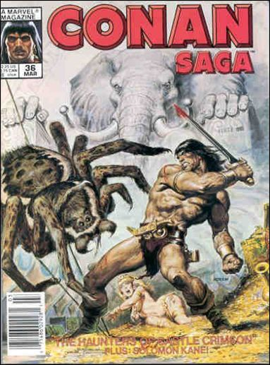 Conan Saga 36-A by Marvel