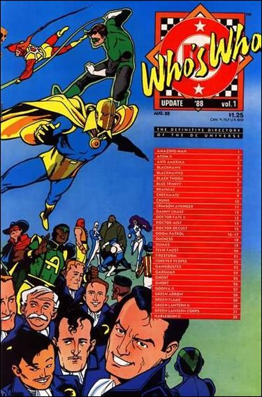 Who's Who Update '88 1-A by DC