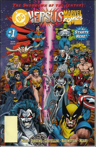 DC Versus Marvel/Marvel Versus DC 1-B by DC