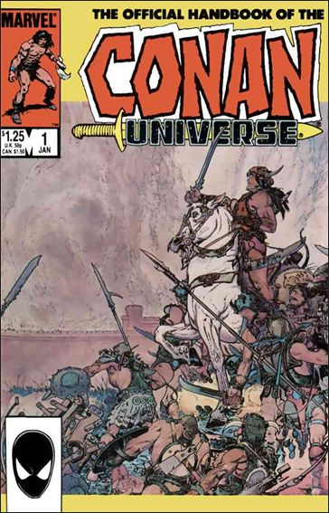 Official Handbook of the Conan Universe 1-A by Marvel