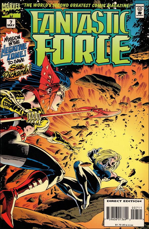 Fantastic Force (1994) 7-A by Marvel