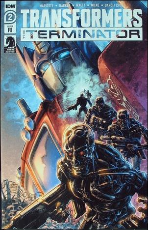 Transformers vs The Terminator 2-C by IDW