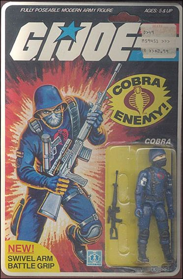 "G.I. Joe: A Real American Hero 3 3/4"" Basic Action Figures Cobra (The Enemy) - Swivel Arm by Hasbro"