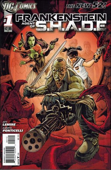 Frankenstein, Agent of S.H.A.D.E. 1-B by DC