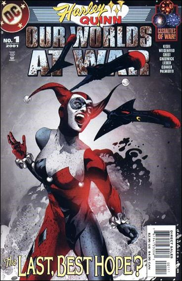Harley Quinn: Our Worlds at War 1-A by DC