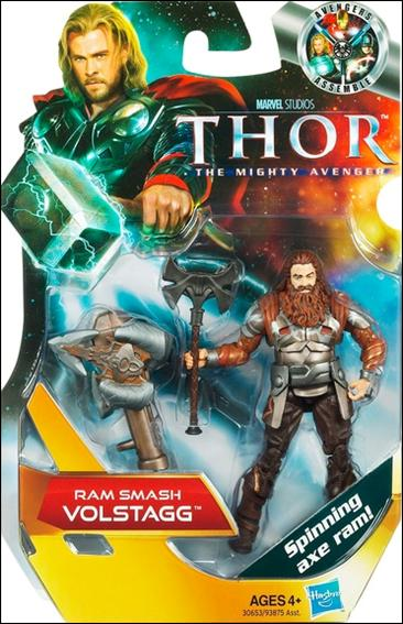 Thor: The Mighty Avenger Ram Smash Volstagg by Hasbro