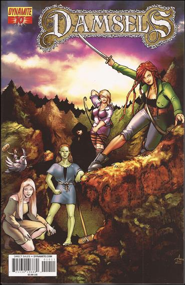 Damsels 10-A by Dynamite Entertainment