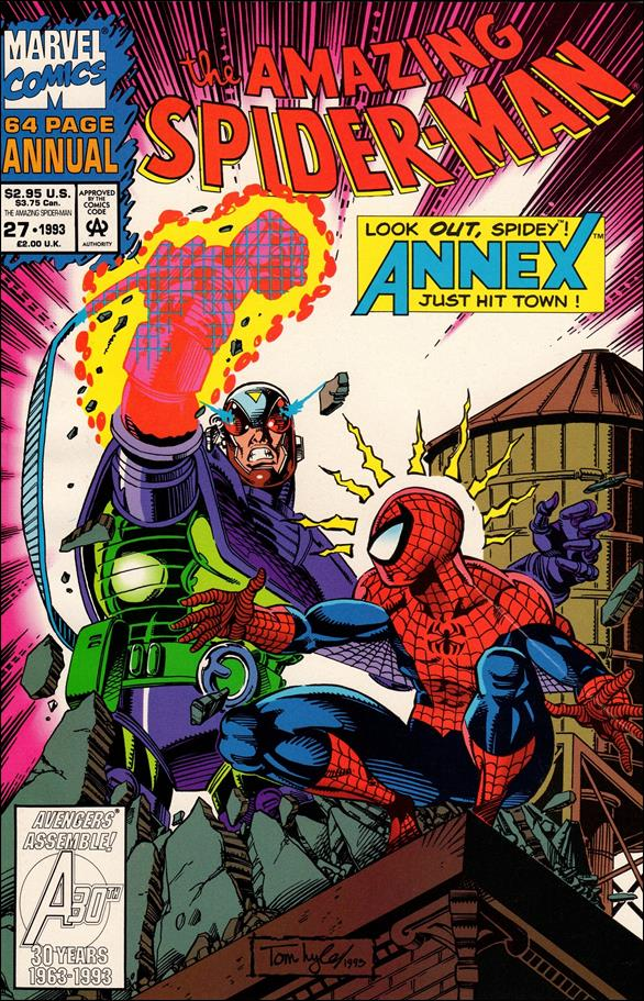 Amazing Spider-Man Annual (1964) 27-B by Marvel