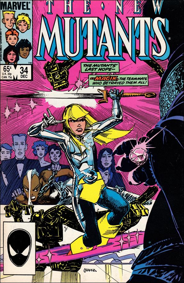 New Mutants (1983) 34-A by Marvel