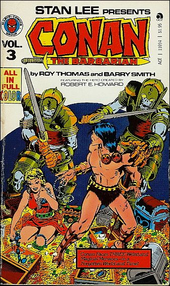 Conan the Barbarian 3-A by Marvel