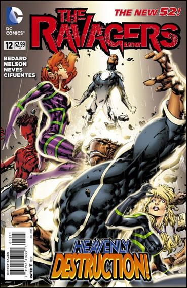 Ravagers 12-A by DC