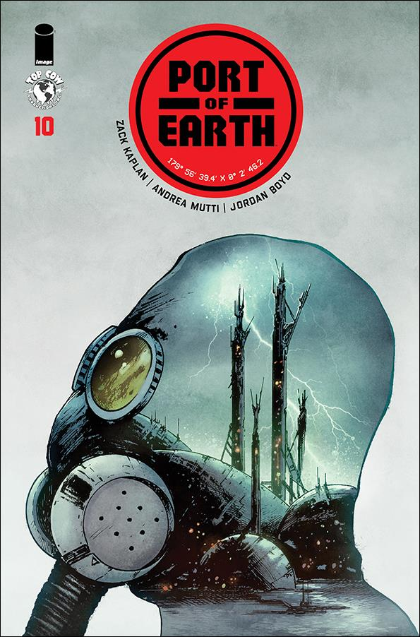 Port of Earth 10-A by Top Cow