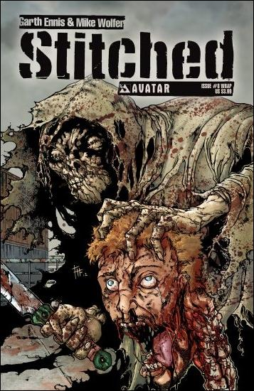 Stitched 8-B by Avatar Press