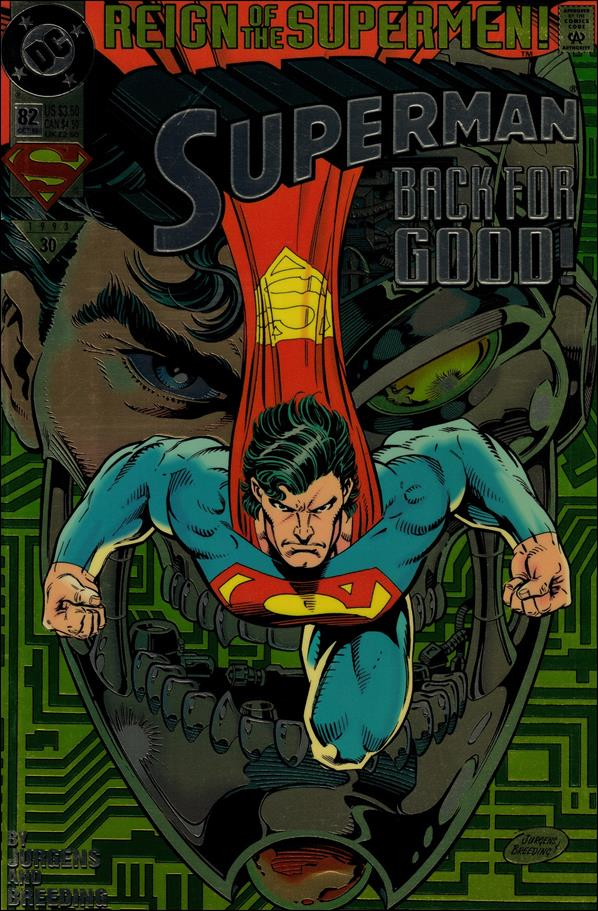 Superman (1987) 82-A by DC