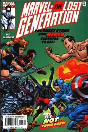 Marvel: The Lost Generation 7-A by Marvel