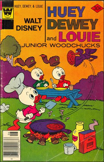 Walt Disney Huey, Dewey and Louie: Junior Woodchucks  44-B by Gold Key