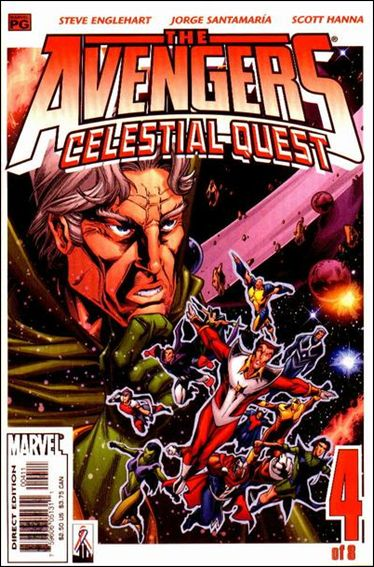 Avengers: Celestial Quest 4-A by Marvel