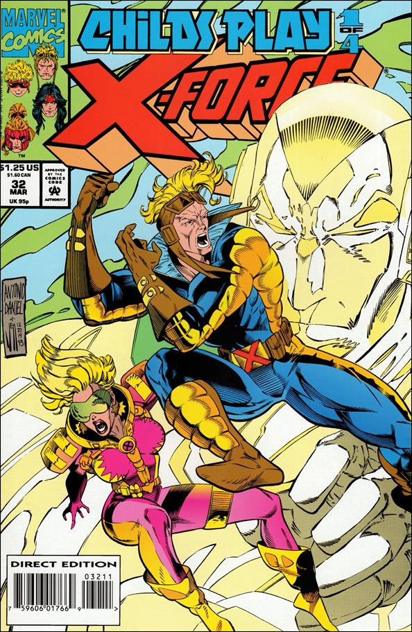 X-Force (1991) 32-A by Marvel