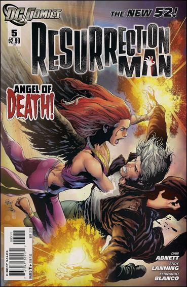 Resurrection Man (2011) 5-A by DC