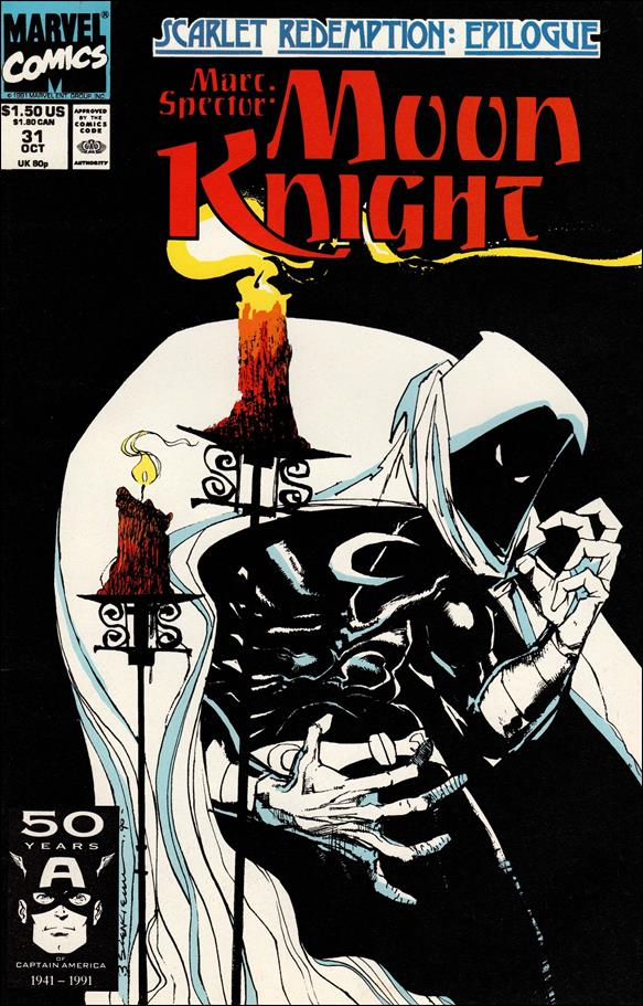 Marc Spector: Moon Knight 31-A by Marvel