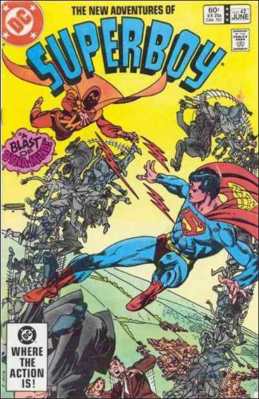New Adventures of Superboy 42-A by DC