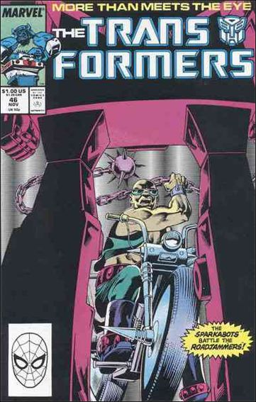 Transformers (1984) 46-A by Marvel
