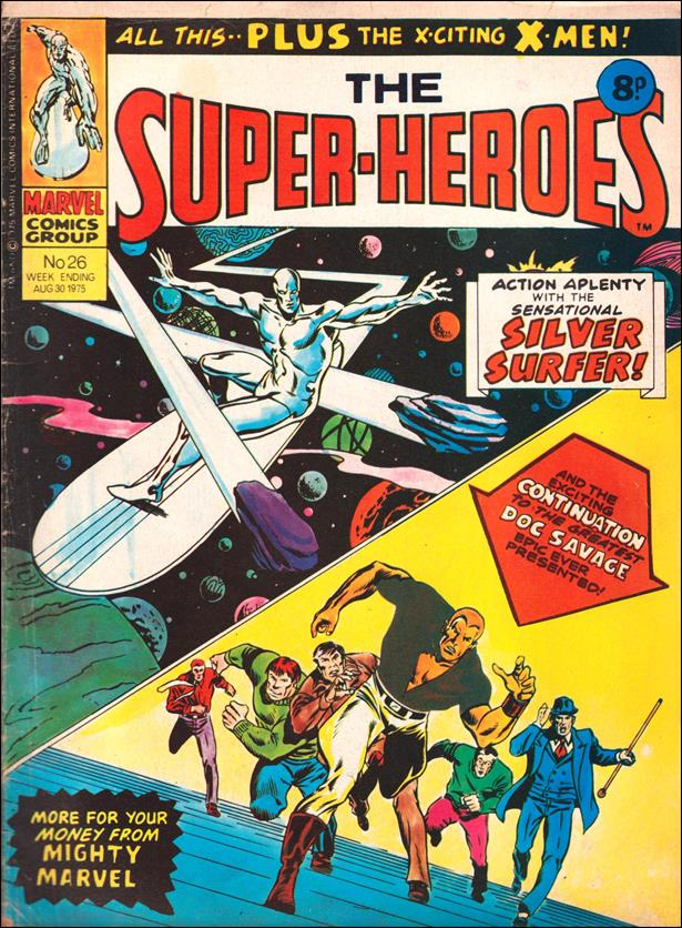 Super-Heroes (UK) 26-A by Marvel UK