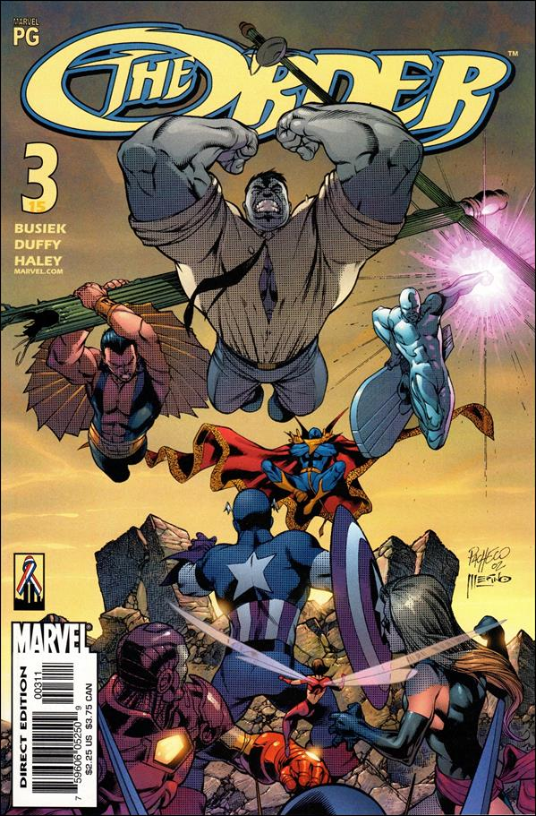 Order (2002) 3-A by Marvel