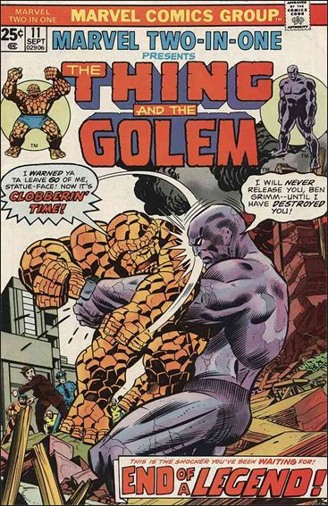 Marvel Two-In-One (1974) 11-A by Marvel