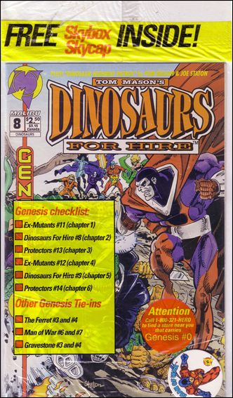 Dinosaurs for Hire (1993) 8-A by Malibu