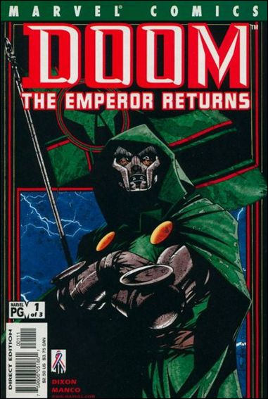 Doom: The Emperor Returns 1-A by Marvel