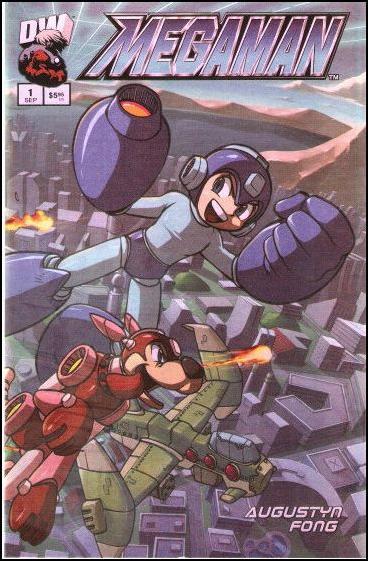 Megaman 1-C by Dreamwave