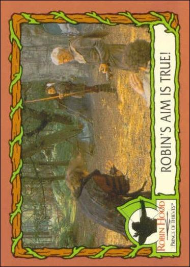 Robin Hood, Prince of Thieves (Base Set) 30-A by Topps