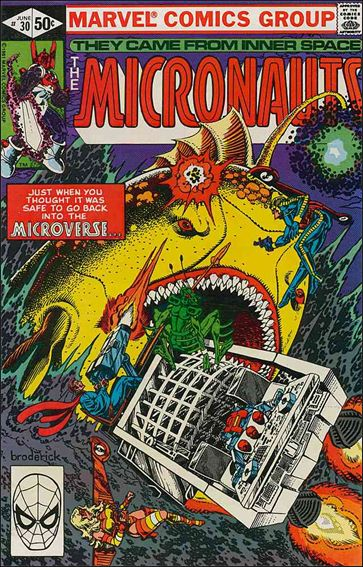 Micronauts (1979) 30-A by Marvel