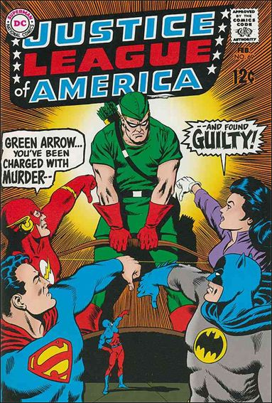 Justice League of America (1960) 69-A by DC