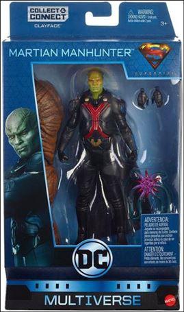 DC Comics Multiverse (Clayface Series) Martian Manhunter