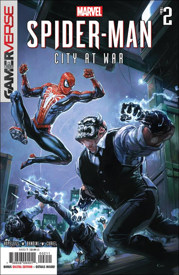 Spider-Man: City at War 2-A by Marvel