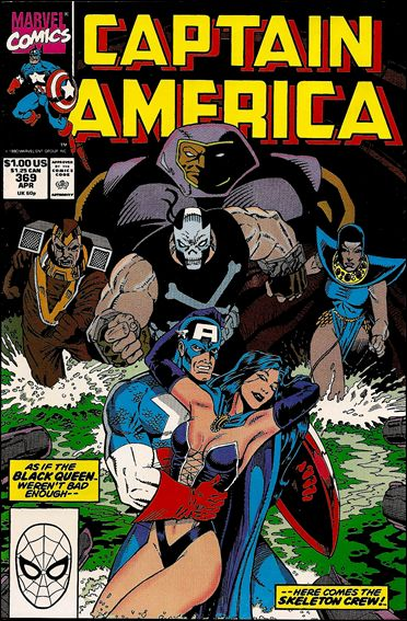 Captain America (1968) 369-A by Marvel