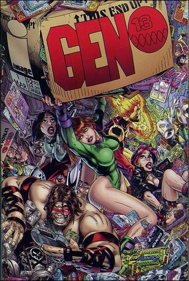 Gen13 (1995) 1-F by WildStorm