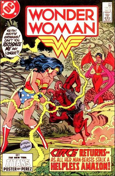 Wonder Woman (1942) 313-A by DC