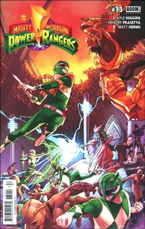 Mighty Morphin Power Rangers 13-A
