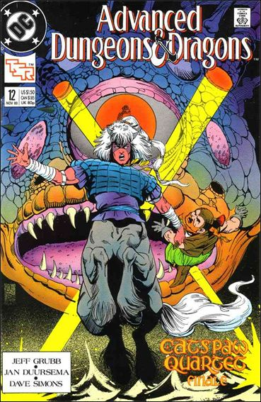 Advanced Dungeons & Dragons 12-A by DC