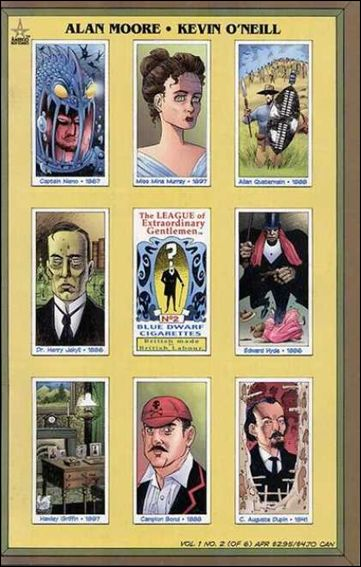 League of Extraordinary Gentlemen (1999) 2-A by America's Best Comics